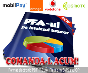 Cumpara acum PFA pe intelesul tuturor 7 Euro + TVA